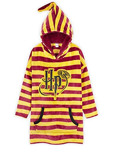 Harry Potter Hoodie Mädchen, Oversized Hoodie, Kinder Hoodie Decke, Riesen Hoodie (Rot)