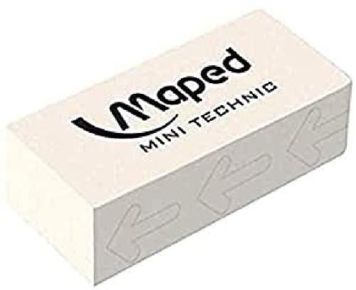 Maped Technic 300 Bianco - Gomma per cancellare, 1 pezzo