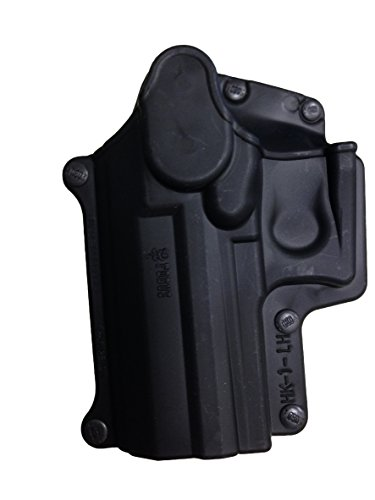 Fobus Standard Holster Left Hand Hand Belt HK1LHBH H&K Compact & USP 9mm/40 & 45, Full Size 9mm/40 / S&W Sigma Series 9/40 VE/E/G / FN49 / Ruger SR9 / Taurus Millenium .40 (Pro models refer to SP11B)