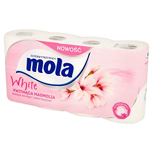 Mola Mola-Papfam_W Toilettenpapier, Weiß