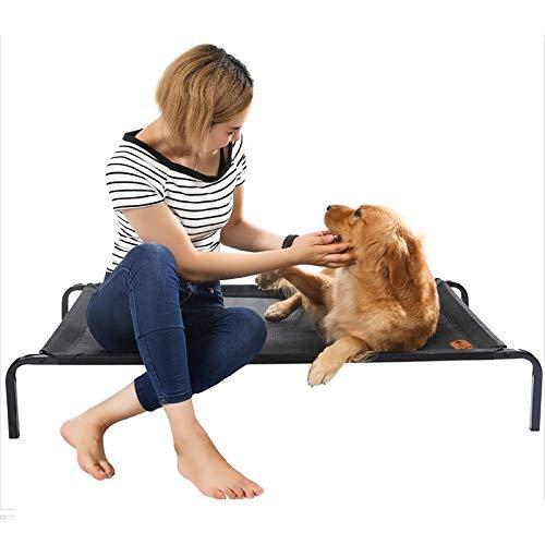 HNWNJ Cama para mascotas Cama para mascotas lavable - Temporadas se pueden utilizar - diseño suspendido lejos de la humedad - carga pesada, duradera (tamaño: XL)