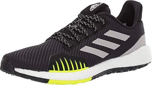 adidas Running PulseBOOST HD Winter Core Black/Grey Two F17/Solar Yellow 11.5