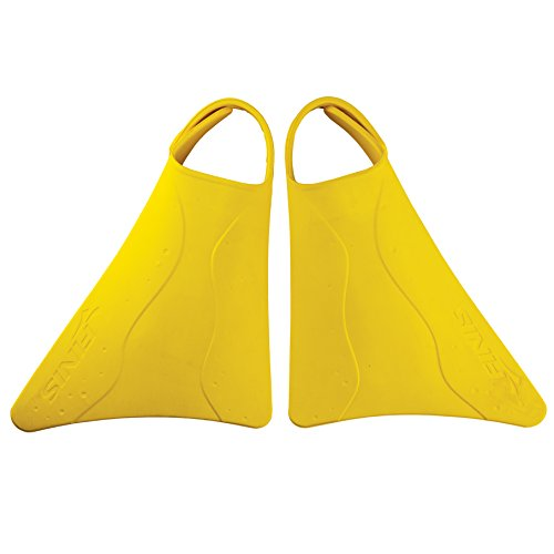 FINIS Kids Fishtail 2 Fins, Yellow, US Junior 6-11