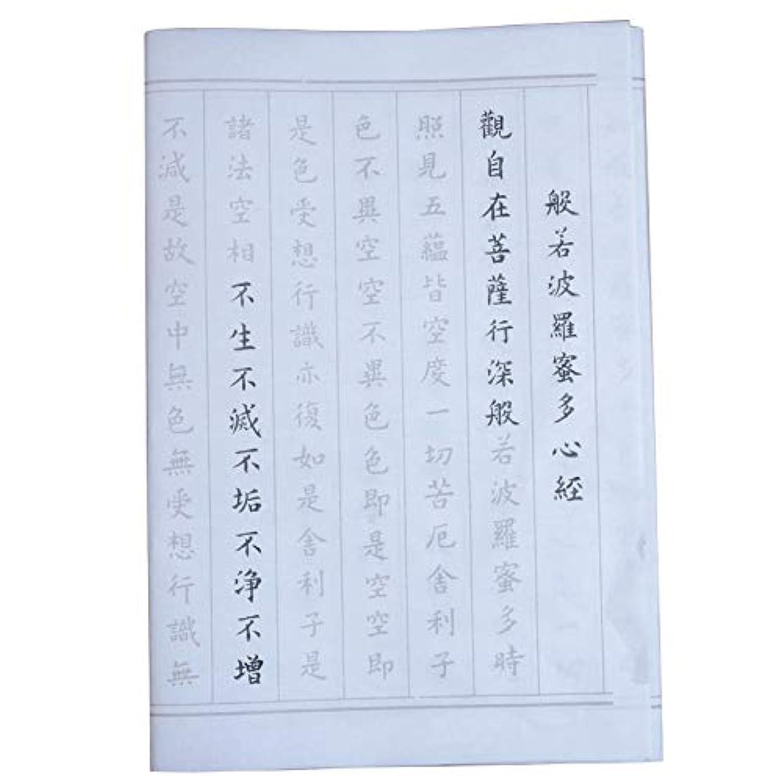 Tianjintang Chinese Calligraphy Tracing Writing Sumi Xuan Paper The Heart Sutra 心经 Ouyang Xun Style Penmanship 欧阳询