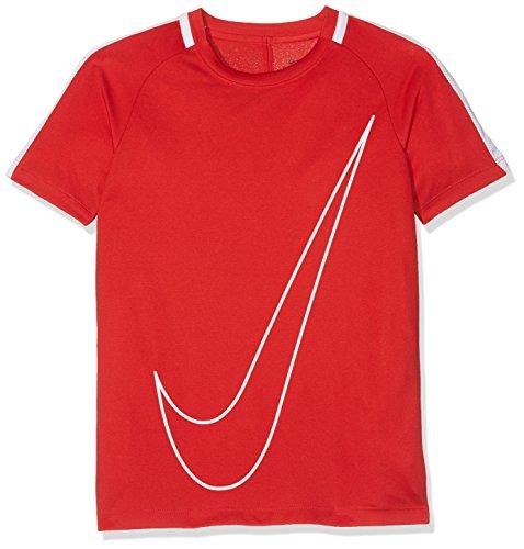 Nike Kinder Dry Academy Trainingsshirt, University Rojo/Blanco, XL