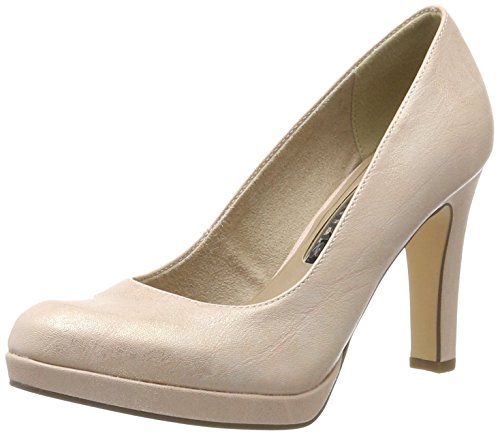 Tamaris Damen 22426 Pumps, Pink (Rose METALLIC 952), 36 EU