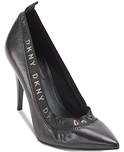 DKNY Damen Katrina High Pump Absätze Schuhe Schwarz 36 EU