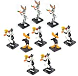- Lote de 10 figuritas de Metal - 8cms - Silvestre y Piolín (x5) + Pato Lucas (x2) + Bugs Bunny (x3) / Piolín y Grosminet Looney Tunes (LL5)
