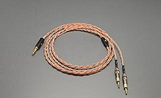 Gotor® 交換ヘッドホンケーブル HD700 HD 700 ヘッドホン 対応用 バランスケーブル ヘッドフォン ケーブル 2.5mmバランス 単結晶銅 リケーブル 112芯 (2#)