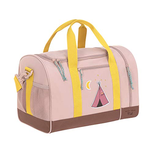 LÄSSIG Sporttasche Kinder Sportbeutel mit Umhängeriemen/Mini Sportsbag, Adventure Tipi, 40 cm, 19 L