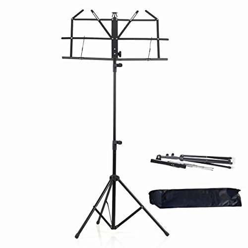 Top 10 collapsible music stand with case for 2020