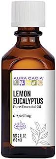 Aura Cacia Pure Lemon Eucalyptus Essential Oil | 2 fl. oz. | Corymbia citriodora