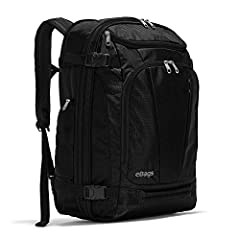 "KEY FEATURES: Padded laptop sleeve fits up to 19"", zip expansion for an extra 1.5"" and stowable backpack straps TRAVEL BENEFITS: 2 exterior quick-grab zip pockets, side zip water bottle pocket and bottom and side carry handles and 4 exterior compress..."