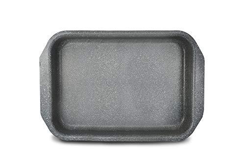 Bialetti 0B6LS003 Induction Plat à Four, Aluminium, Gris, 0 cm