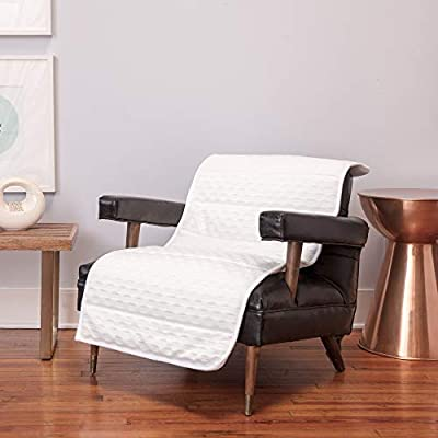 """BioPEDIC Therapy On-The-Go, White Magnetic Chair pad, 24"""" x 48"""""""