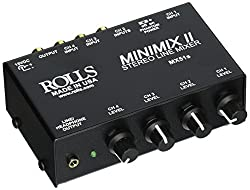 in budget affordable Roller MX51S Minimix 24-Channel Stereo Linear Mixer