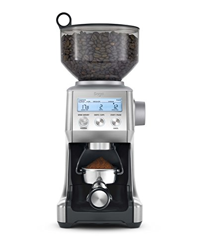 Sage BCG820BSSUK the Smart Grinder Pro Coffee Grinder - Silver