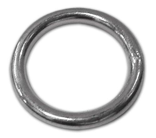 Diamètre de l'anneau tubulaire galvanisée de 30 mm Taille 21 mm Epaisseur 4.9 Pack 10 pcs