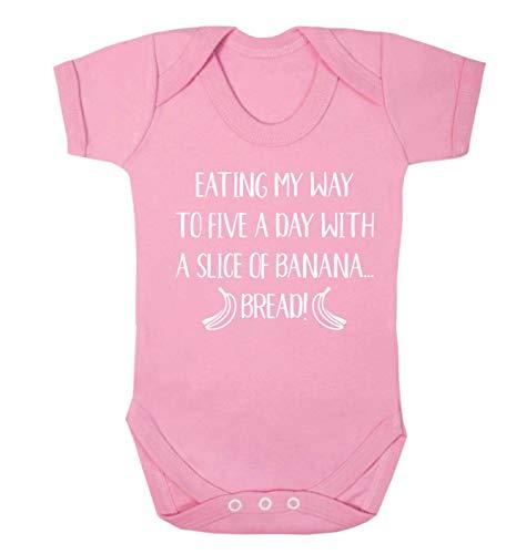 Flox Creative Five a Day Banana Bread Gilet pour bébé - Rose - XS