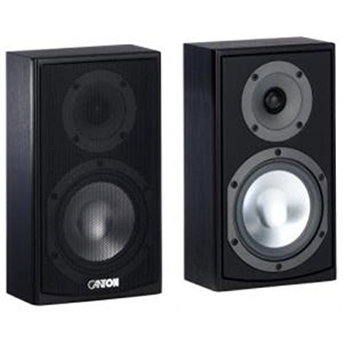 Canton GLE 410.2 - Lautsprecher - 60/100 Watt schwarz (Paar)