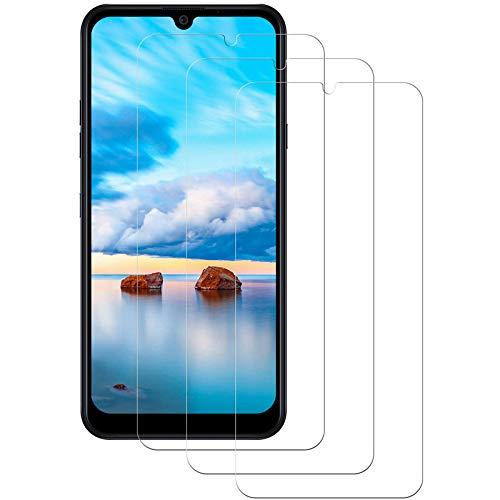 Aspiree 3 Stück Panzerglas Schutzfolie kompatibel mit LG K40S, Gehärtetes Glas Bildschirmschutzfolie mit 9H Festigkeit, HD Ultra Klar, Anti-Kratzen, Anti-Öl, Bildschirmschutz Folie für LG K40S