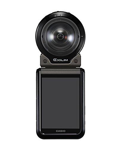 CASIO デジタルカメラ EXILIM EX-FR200BK カメラ部+モニター(コントローラー)部セット アウトドアレコーダ...