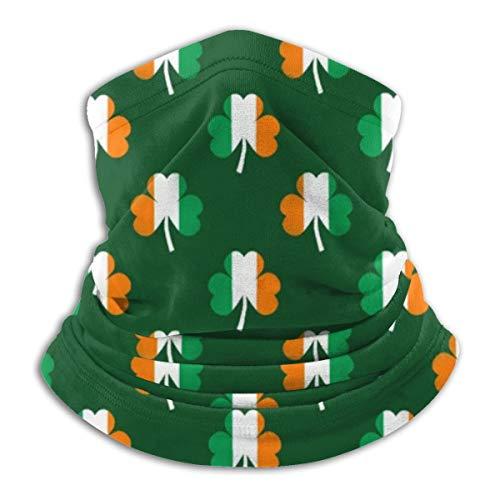 N/A Kids Balaclavas Hoed Winddicht Gezichtsmasker Cap Iers Vlag Groen Wit Oranje Op Groen
