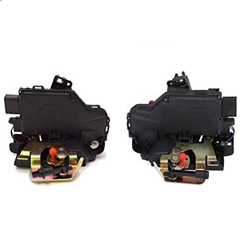 MOUNTAIN MEN Kit de Bloqueo de Puerta Cierre centralizado de Bloqueo del actuador Frontal Izquierda y Derecha 8E1837015D 8E1837016D for Audi A3 A4 TT Accesorios de Coche