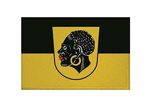 U24 Aufnäher Coburg Fahne Flagge Aufbügler Patch 9 x 6 cm
