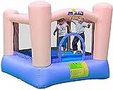 SeptYN Kinder Bounce Castle Aufblasbare Trampolin-Korb, Kinder Bounce Castle Füßen Bounce Bounce...