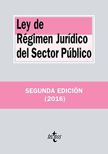 Ley de Régimen Jurídico del Sector Público (Derecho - Biblioteca de Textos Legales)