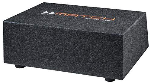 Helix/Match PP 10E-Q - 25cm Plug & Play Downfire-Subwoofer im kompakten Bassreflex-Gehäuse