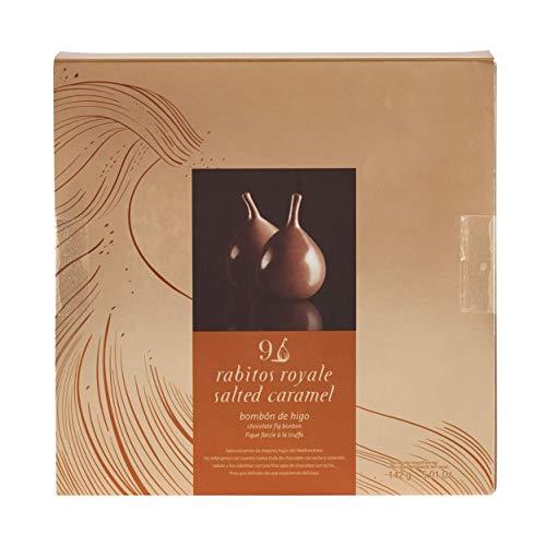 Karamellisierte Feigenpralinen 142 g / Rabitos Royale Bombón de Higo Salted Caramel 9 Stück / Pralinen / Pralinés