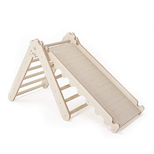 MAMOI Climbing frame Triangle gym Triangle Modern climbing triangle children Interior climbing frame with minimalistic design made from 100% ECO wood | Manufactured in EU