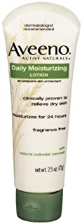 Aveeno Daily Moisturizing Lotion , 2.5 Ounce (Pack of 3)