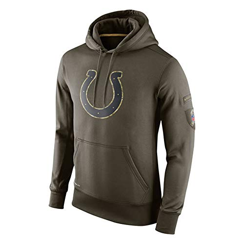 PUHONG NFL Indianapolis Colts Hoodie Sweatshirts American Football Hooded Sweatshirt Pullover Men and Women Long Sleeve Sport Clothing