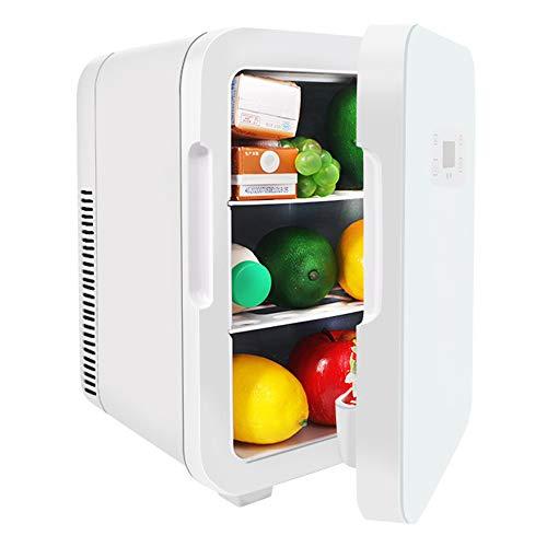 CHENPENG Mini refrigerador AC/DC de 10 litros, Enfriador y Calentador termoeléctrico portátil, para el Cuidado de la Piel, Alimentos, Dormitorio, hogar y Viajes,8l