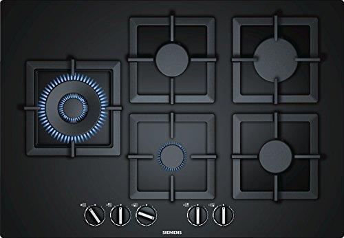 Siemens ep7 A6sb20 ingebouwd gas zwart kookplaat