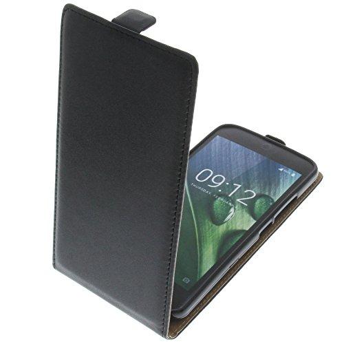 foto-kontor Tasche für Acer Liquid Zest Plus Smartphone Flipstyle Schutz Hülle schwarz