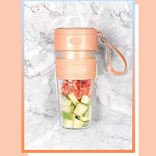 Portable Juicer Cup Mini Electric Mixing Cup Portable Juicer Cup Rechargeable Fitness Juice Cup, For Smoothies, Juice, Shakes, Usb Rechargeable, 300ml Capacity Food Processor