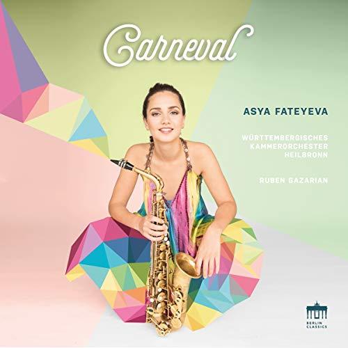 Carneval. Voyage à travers l'histoire du saxophone. Fateyeva, Bornkamp, Gazarian.