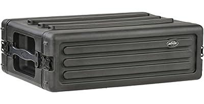 SKB 1SKB-R3S 3U Roto Shallow Rack - Black