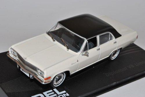 Opel Diplomat V8 Limousine Weiss 1964-1967 1/43 Modellcarsonline Modell Auto
