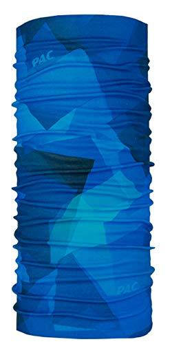 Halstuch Unisex Merinowoll Schlauchtuch Deep Ocean Multifunktionstuch Kopftuch Merino Wool Multi P.A.C 10 Anwendungsm/öglichkeiten Schal