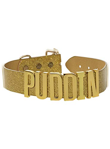 Funidelia | Collar de Harley Quinn Puddin - Suicide Squad