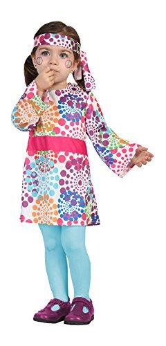Atosa-24430 Disfraz Hippie, multicolor, 12 a 24 meses (24430)