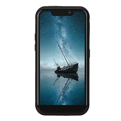ciciglow Smartphone, 5.5 Pulgadas Military Outdoor 2GB + 16GB 4G LTE Smartphone Tarjetas duales Doble Modo de Espera 5000 mAh Batería para Android 8.1 Negro, Teléfono móvil(Enchufe de la UE)