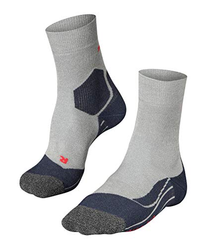 FALKE Herren Ru3 M So Laufsocken, Grau (Light Grey 3406), 46-48