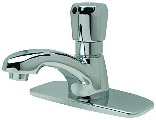 Zurn Z86100-XL-CP4 Single Basin Metering Faucet