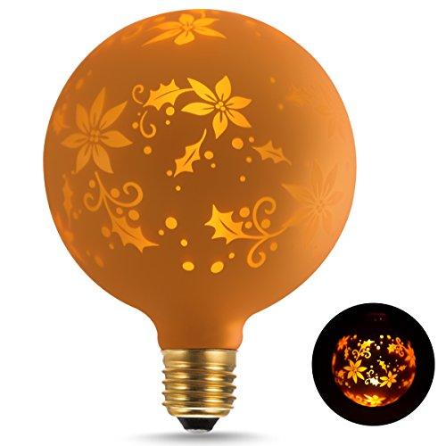 ドリスショップ LED電球 E17口金 60W形相当 電球色 クリプトン電球 フィラメント電球 全方向 シャンデリア用 エジソン電球 クリア電球 密閉形器具対応 6個入